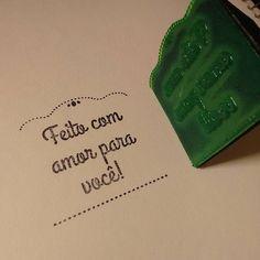 Com MUITO amor!! ❤ #feitocomamor #feitoamao