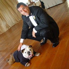 Oh, Adam. You just grew more awesome. You put a Bully in a tux. (And a yarmulke)