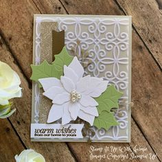 Christmas – Stamp It Up with Jaimie Poinsettia Cards, Christmas Poinsettia, Stampin Up Christmas, Christmas Cards To Make, Christmas Ornaments, Stampin Up Catalog, Winter Cards, Cards For Friends, Cool Cards