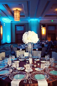 Wedding with Teal, Brown, and Ivory Accents  http://significanteventsoftexas.com/