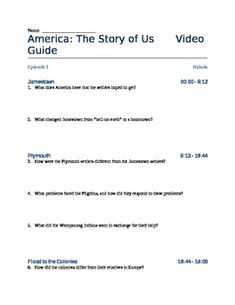 Video study guide for Episode 8: Boom of America The Story of Us ...