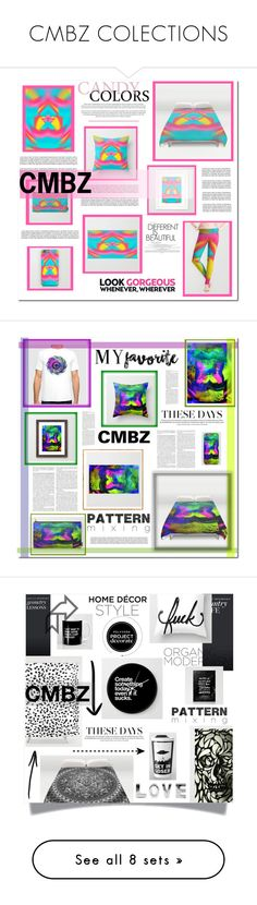 """""""CMBZ COLECTIONS"""" by melodibrown ❤ liked on Polyvore featuring interior, interiors, interior design, home, home decor, interior decorating, Pier 1 Imports, NDI, Allstate Floral and Orla Kiely"""