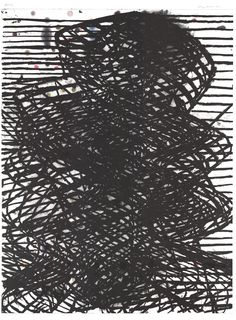 Terry Winters, Pattern, 2001, Lithograph with pigmented inkjet, 54 in. x 40 1/4 in.