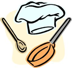Chef Cooking Utensils Faculty And Staff, Cooking Utensils, Chicken Recipes, Good Food, Logos, Spanish, Diy Kitchen Appliances, Logo, Spanish Language