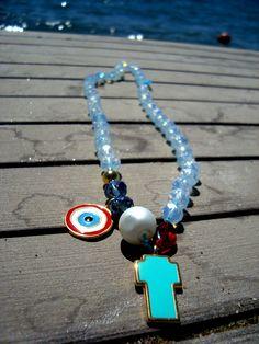 necklace semi precious stones.... @ google :titina2710