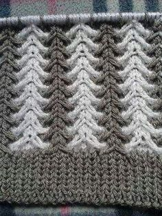 Learn how to knit crochet this border. In this Border crochet tutorial series I will be showing how to crochet fan stitch. This crochet tutorial was f Baby Knitting Patterns, Knitting Stiches, Knitting Videos, Easy Knitting, Crochet Stitches, Stitch Patterns, Crochet Patterns, Sewing Stitches, Knitting Needles