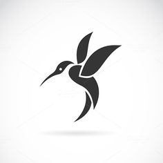 Vector image of an hummingbird by @Graphicsauthor