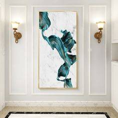 """""""Large Modern Abstract Marble Blue Watercolor Canvas Print Paintings Wall Art Pictures POP Poster Living Room Office Home Decor"""" Canvas Home, Canvas Wall Art, Canvas Prints, Modern Room Decor, Modern Wall Art, Watercolor Canvas, Oil Painting Abstract, Office Wall Decor, Wall Art Decor"""