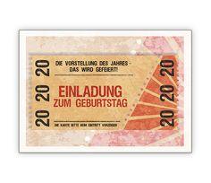 stempel einladung zum geburtstag - www.hansemann.de   basteln, Einladungsentwurf