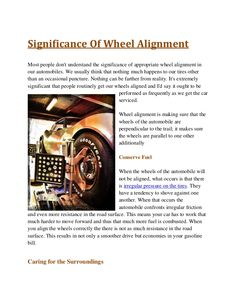 wheel alignment cost vancouver