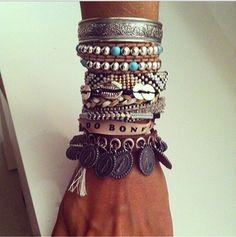 Accumulation réussie de bracelets - Hipanema