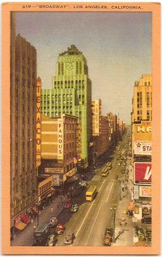 'Broadway' - Los Angeles, California