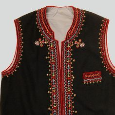 Embroidery Dress, Beaded Embroidery, Suits, Folk, Jackets, Blouses, Dresses, Design, Fashion