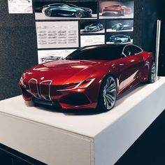 cardesignworld BMW by Richard Yoh @ryoh93 from ArtCenter College of Design #cardesign #car #design #clay #claymodel #cncmilling #3dprinting #bmw #degreeshow #thesisproject