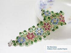 Sparkling Garden Bracelet Pattern