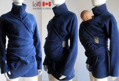 Maternity. Babywearing. Coat. Jacket. Baby Wearing. Baby Wearing Jacket. Ships TODAY from Canada. Sling Coat. Carry Coat. Wrap Coat.. $156.00, via Etsy.