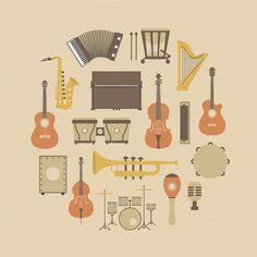 instrument icon by ZIRSOLOSTUDIO on @creativemarket