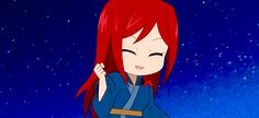 Erza Scarlet is a S-class mage of the Fairy Tail Guild, the strongest still active female, and Fairy Tail Girls, Fairy Tail Couples, Fairy Tail Anime, Blue Purple Hair, Erza Scarlett, Fairy Tail Erza Scarlet, Jerza, Fairytail, Jellal And Erza