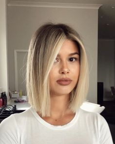 "✈️ Hairstylist | FL Salon on Instagram: ""The bobby of your dreams 🤩🎨✂️( and now we all want a bob.....PS if you are in California @domdomhair is your man. This cut is inspired by…"" Hair Inspo, Hair Inspiration, Straight Long Bob, Gypsy Hair, Goddess Hairstyles, Haircuts For Fine Hair, Hair Locks, Blonde Bobs, Gorgeous Hair"
