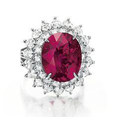 Magnificent Jewels Christie's New York diamant | Vogue