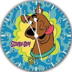 "New Scooby doo Wall Clock 10"" will be nice Gift and Room wall Decor W246"