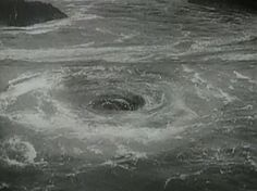 """""""Corryvreckan"""" - ocean whirlpool special effect from Powell & Pressburger's I Know Where I'm Going (1945)"""