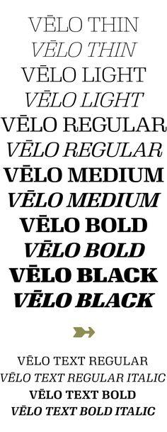 Velo - House Industries