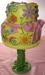 Pretty Spring Cake