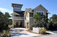 Santa Rosa Beach, FL: Incredible 5 bedroom / 5.5 Bath Masterpiece in WaterSound with separate detached carriage house, private heated plunge pool, 2 golf carts, private bat...