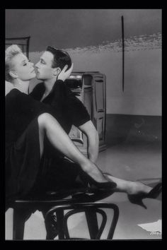 """Gene"""" Kelly (August 23, 1912 – February 2, 1996) - seen here with Mitzi Gaynor, in the 1957 film, """"Les Girls."""""""