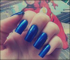 Esmalte Top Fashion - Blue Sky, da Nail Plus. Por: A Garota Esmaltada (http://agarotaesmaltada.tumblr.com)