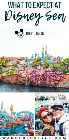 Tokyo Disney Sea at Tokyo, Japan - What To Expect, Tokyo Travel, Japan Travel, Things to do, Disney, Disney Theme Park, Disney Japan | Wanderlustyle.com