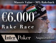 €6000 Rake Race through Pokerakademia. Not only for Hungarians;)