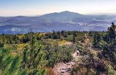 Babia Góra - widok ze szlaku na Pilsko