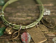 Vintage StyleRustic Green & Brown Mixed Metallic by Prettybox4her, $24.00