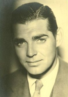 Clark Gable .... no mustache--always gorgeous.  looking for a time machine !!
