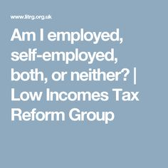 Register For Self Assessment  SelfEmployed GovUk HttpsWww