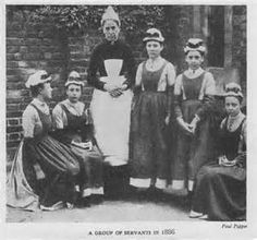 1912 house maid uniforms - Bing Images