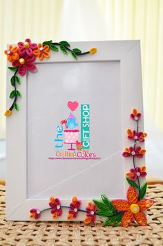 Personalized Photo-frame....a special touch to a frame so it can make ur memories more lovable n fresh forever!!!!