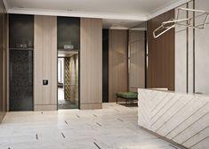 #architecture #Interior #Interiordesign #Studio211 #Bard5 #house #TheMostman #Mostman #lobby #counter #furniture #lamp #elevator