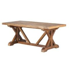 Home Decorators Collection Cane 4 ft. L Rectangular Bark Wood Coffee Table 9415400860 at The Home Depot - Mobile