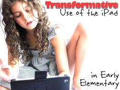 transformative-ipad-use-in-early-elementary-school by Silvia  Rosenthal Tolisano via Slideshare