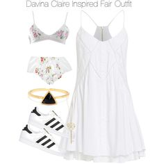 Davina Claire Inspired Fair Outfit by staystronng