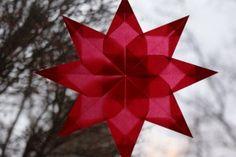 Transparent Paper Star (window star!!)