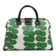Handbag in the Josef Frank textile Celotocaulis by Svenskt Tenn. If I were the sort to keep pretty things like this from getting dirty, it would have been my signature bag.