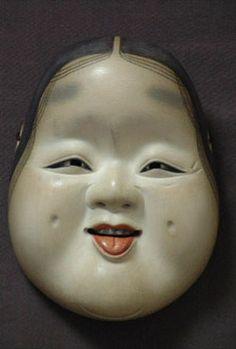 Japanese Masks | title shitadashioto style japanese noh mask artist toshizane copy ...