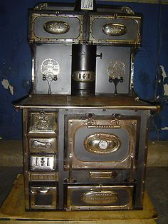 south bend antique wood stove kitchen oven wood burning cook stove heat source
