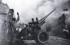 Шайхет А.С. Данциг. Уличный бой. 1945 г.