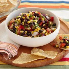 Mexican Black Bean and Corn Salsa