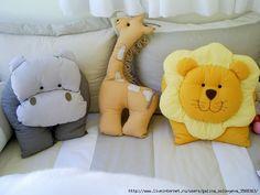 Sweet animal pillows! :)